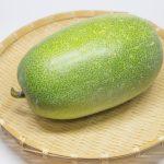 冬瓜の旬?栄養や効能と副作用