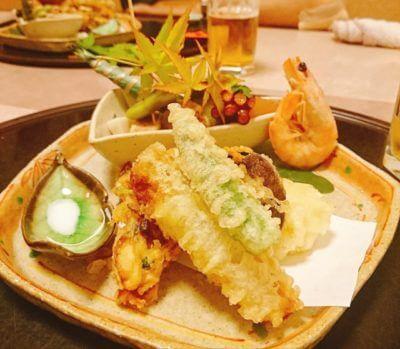 イカの天ぷら上手に揚げる