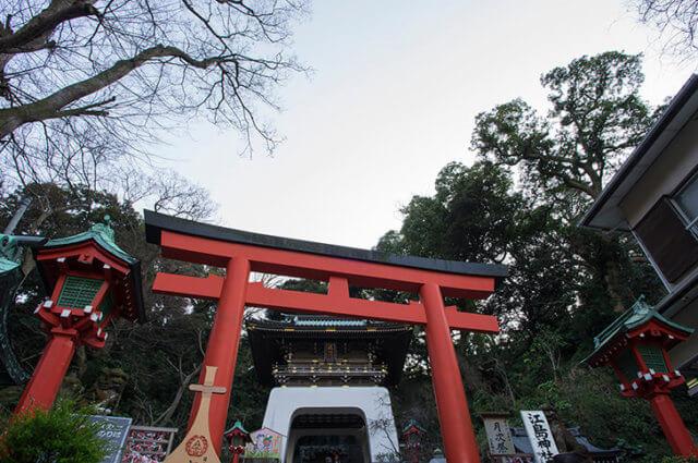 江島神社初詣2019