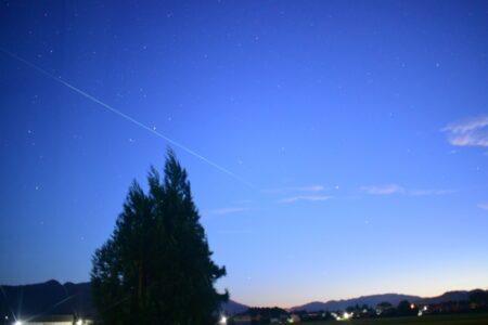 ペルセウス座流星群2021